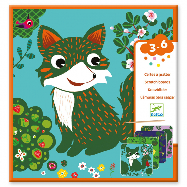 DJECO - Country Creatures Scratch Card Activity Set in Bethesda MD