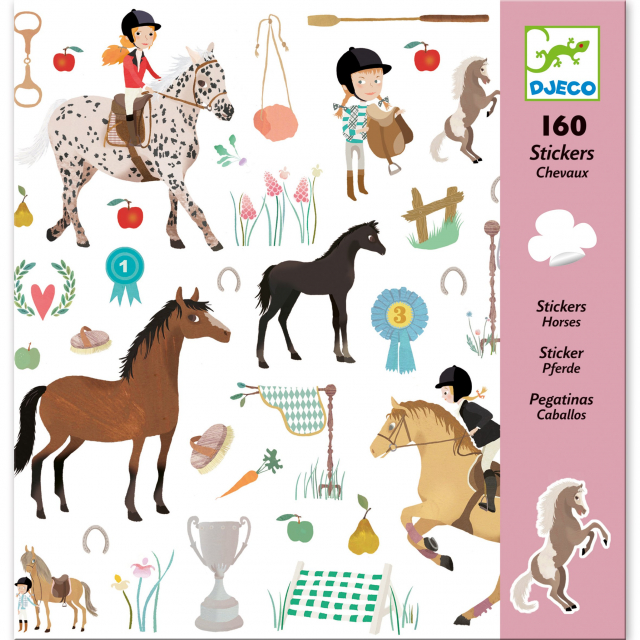 DJECO - Horses Sticker Sheets in Bethesda MD