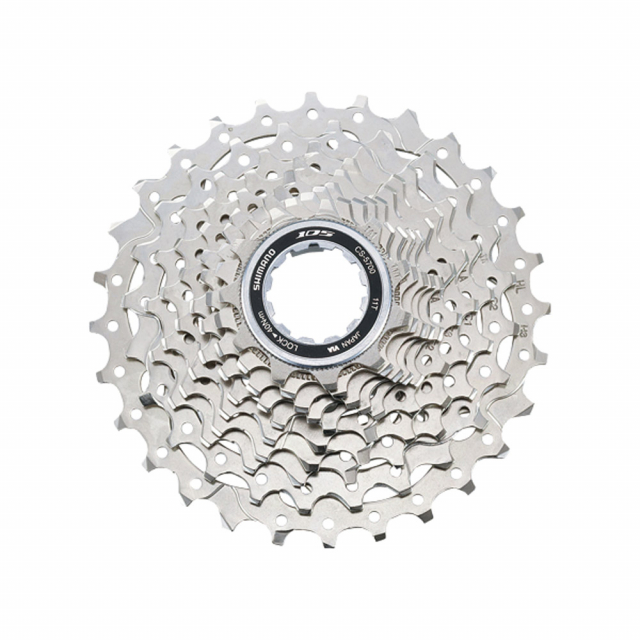 Shimano Cycling - Cassette Sprocket, Cs-5700, 105 10-Speed 11-12-13-14-15-17-19-21-24-28T 1Mm Spacer Included in Alamosa CO