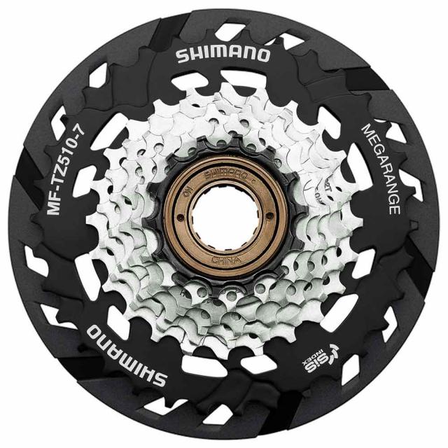 Shimano Cycling - Multiple Freewheel Sprocket, Mf-Tz510 14-34T, 7-Speed, 14-16-18-20-22-24-34T, W/Spoke Protector in Marshfield WI