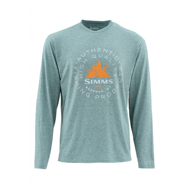 Simms - Men's Graphic Tech Tee LS