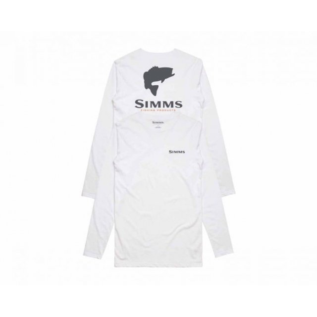 Simms - Bass Logo LS Tech Tee