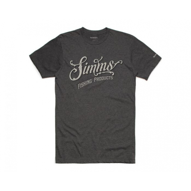 Simms - Men's Lager Script T-Shirt