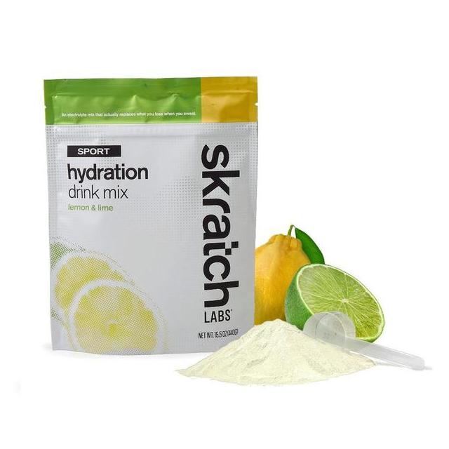 Skratch Labs - Sport Hydration Drink Mix, Lemon & Lime, 20-Serving