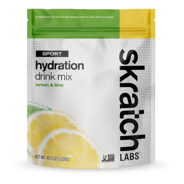 Skratch Labs - Sport Hydration Drink Mix, Lemon & Lime, 60-Serving