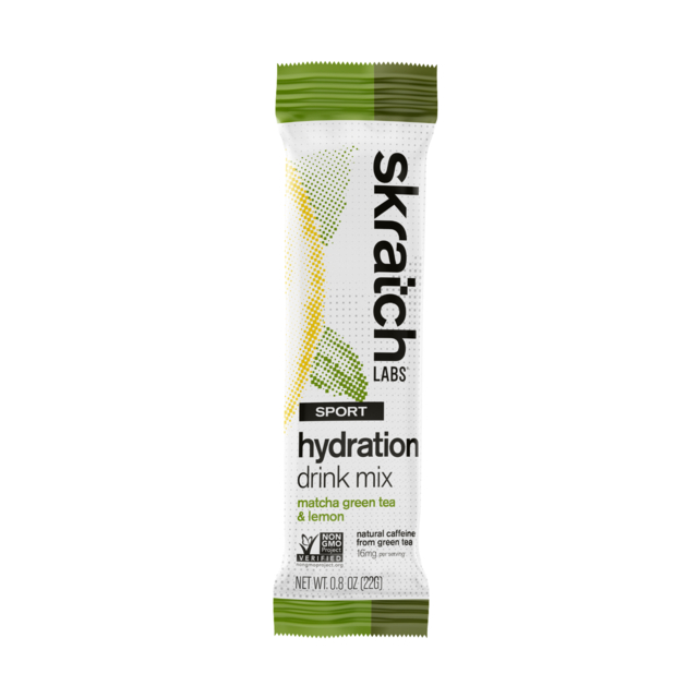 Skratch Labs - Sport Hydration Drink Mix, Matcha Green Tea and Lemons, Single Serving in Colorado Springs CO