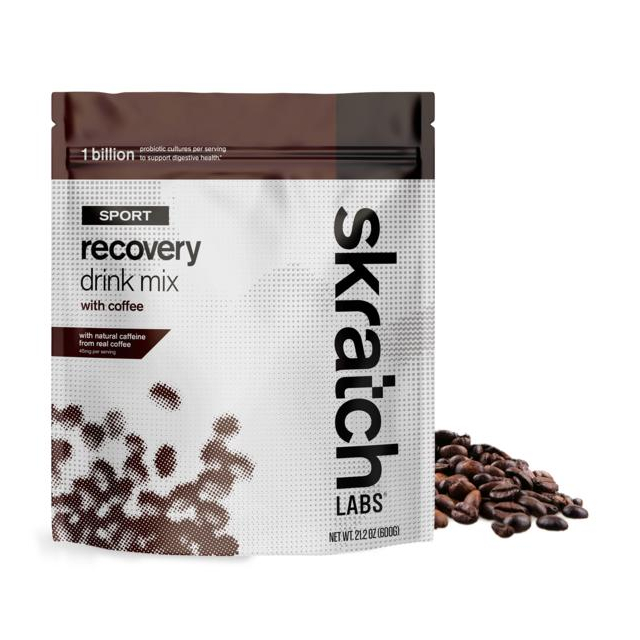 Skratch Labs - Sport Recovery Drink Mix, Coffee, 12-Serving Resealable Pouch in Colorado Springs CO