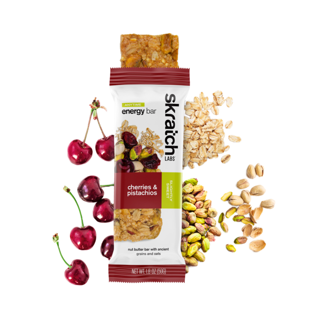 Skratch Labs - Anytime Energy Bar, Cherries & Pistachios in Aurora CO