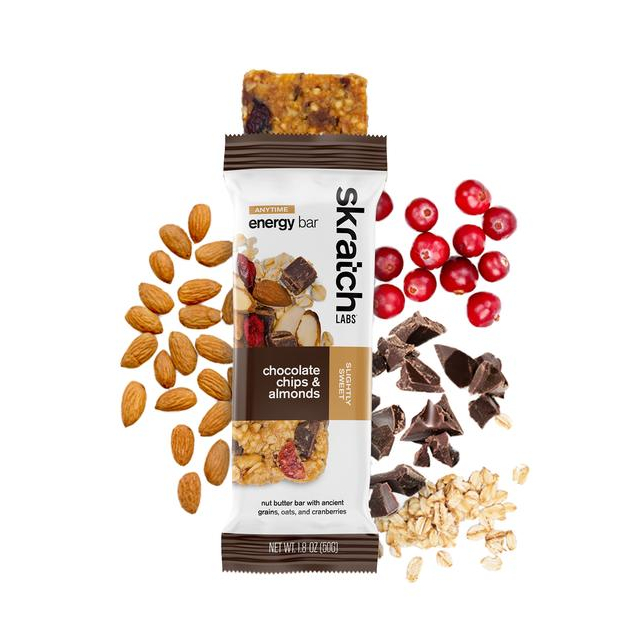 Skratch Labs - Anytime Energy Bar, Chocolate Chips & Almonds in Aurora CO