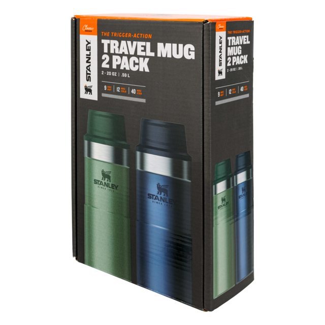 Stanley - Classic Trigger-Action Travel Mug 20oz Twin Pack in Morehead KY