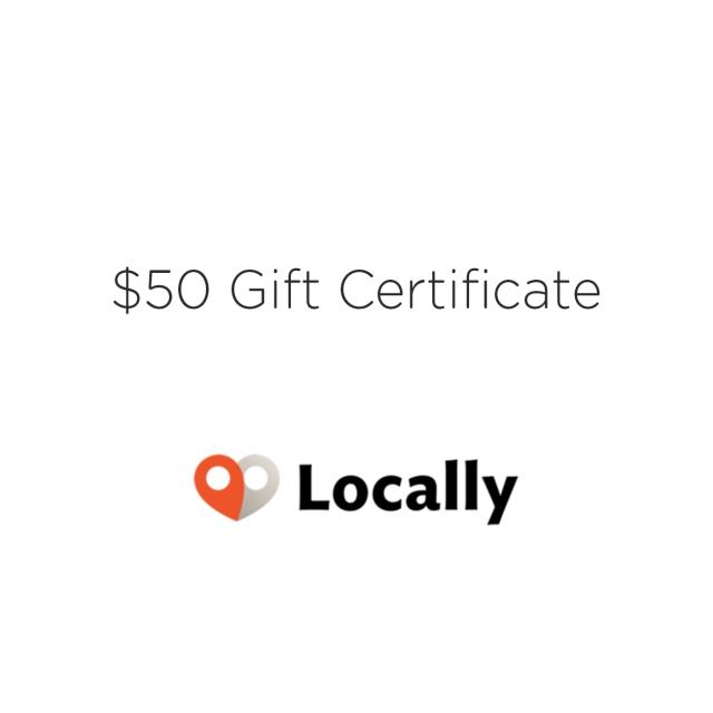 Local Gear - $50 Gift Certicate