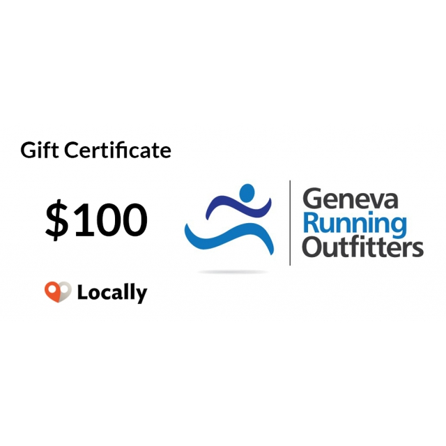 Local Gear - Geneva Running $100 Gift Certificate in Gulf Breeze FL
