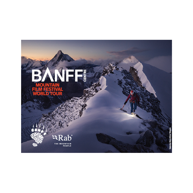 Local Gear - March 3, 2020 BANFF CENTRE MOUNTAIN FILM FESTIVAL WORLD TOUR