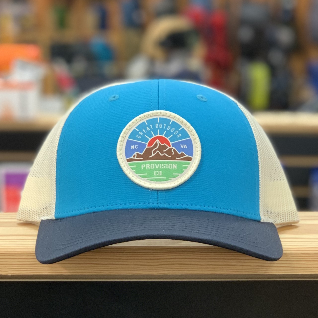 GOPC LOWPRO WOVEN PATCH HAT TEAL TRI