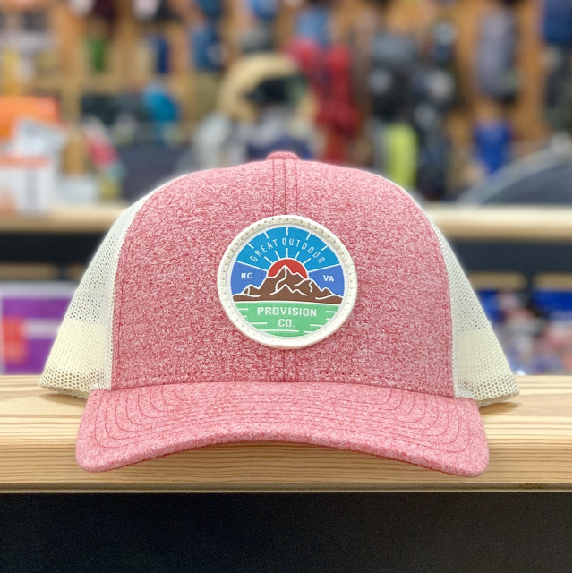 Great Outdoor Provision Co - GOPC LOWPRO WOVEN PATCH HAT RED HEATHER