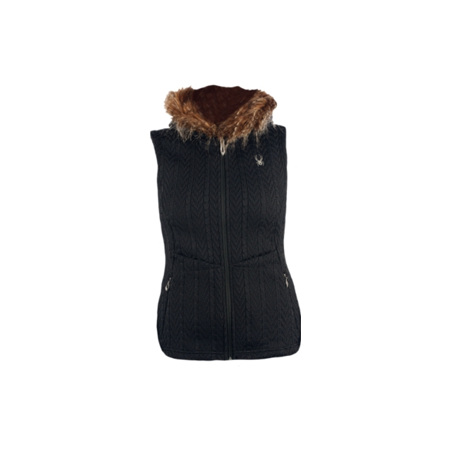 Spyder - Spyder Womens Major Cable Core Sweater Vest