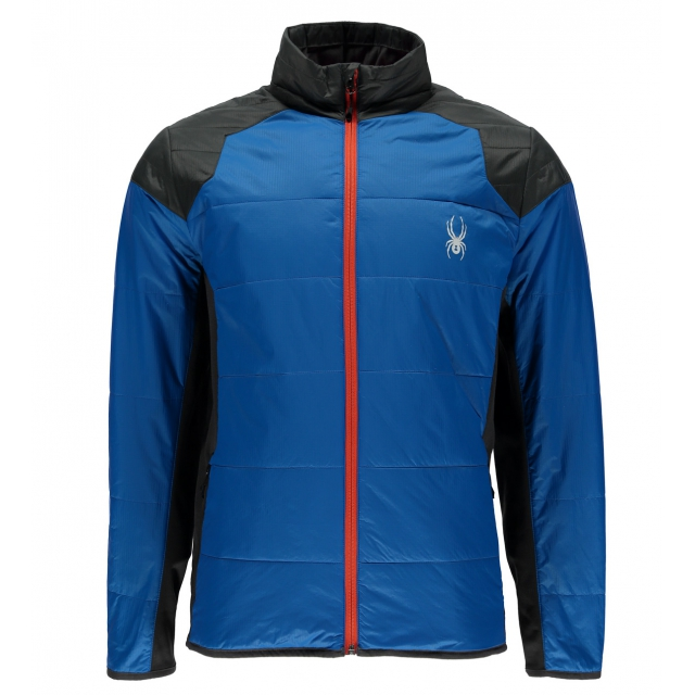Spyder Men S Glissade Full Zip Insulator Jacket