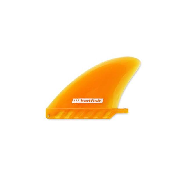 Badfish - 4.5in Soft Flex Center Fin (orange) in Edwards CO