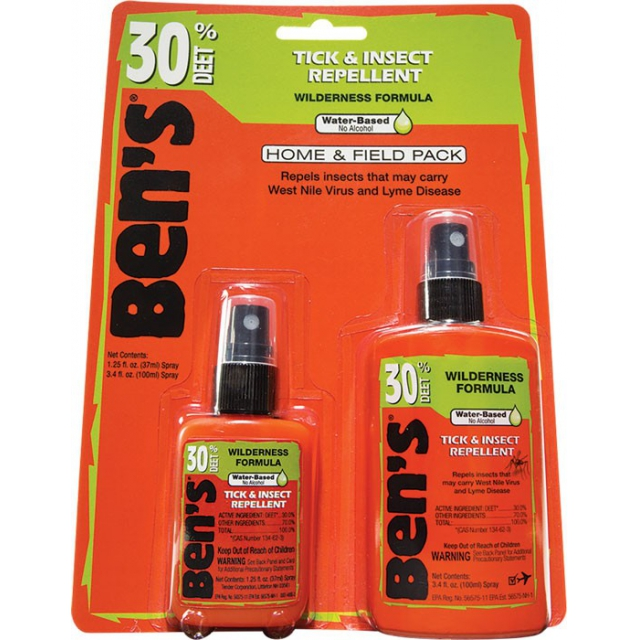 Adventure Medical Kits - Ben's Home & Field Pack 3.4oz & 1.25oz