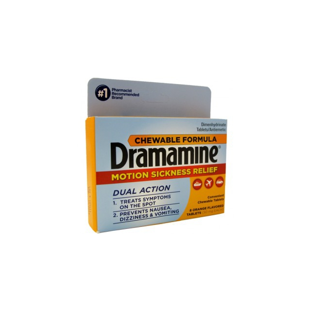 Adventure Medical Kits - Dramamine Chewable