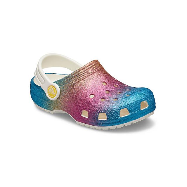 Crocs / Kids' Classic Ombre Glitter Clog