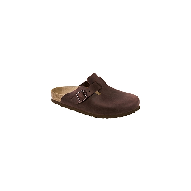 Birkenstock - Boston Soft Footbed Habana Oiled Leather