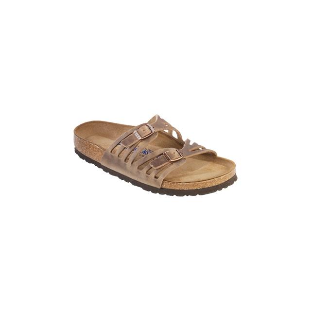 Birkenstock - Granada Tobacco Soft Footbed Oiled Leather