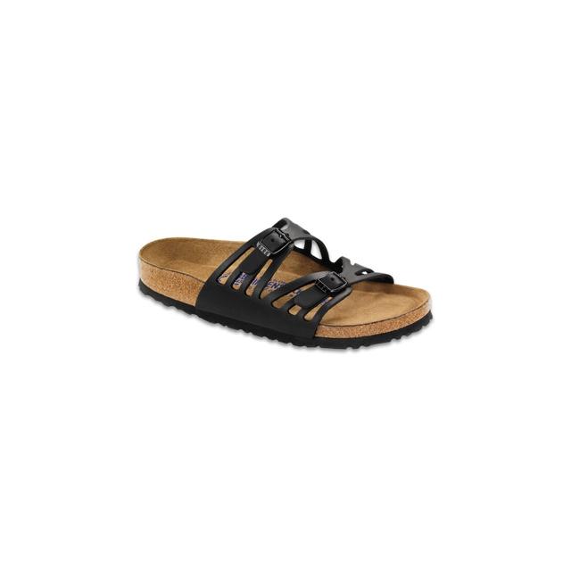 Birkenstock - Granada Soft Footbed Black Oiled Leather