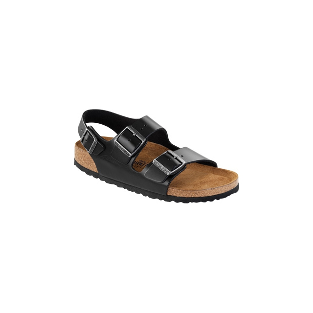 Birkenstock - Milano Soft Footbed Black Amalfi Leather