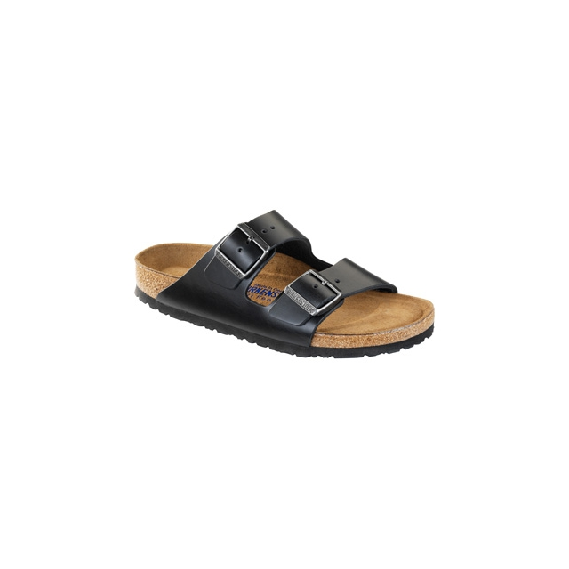 Birkenstock - Arizona Soft Footbed Black Amalfi Leather