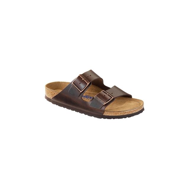 Birkenstock - Arizona Soft Footbed Brown Amalfi Leather