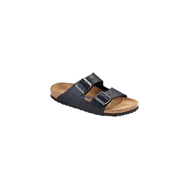 Birkenstock - Arizona Soft Footbed Black Oiled Leather