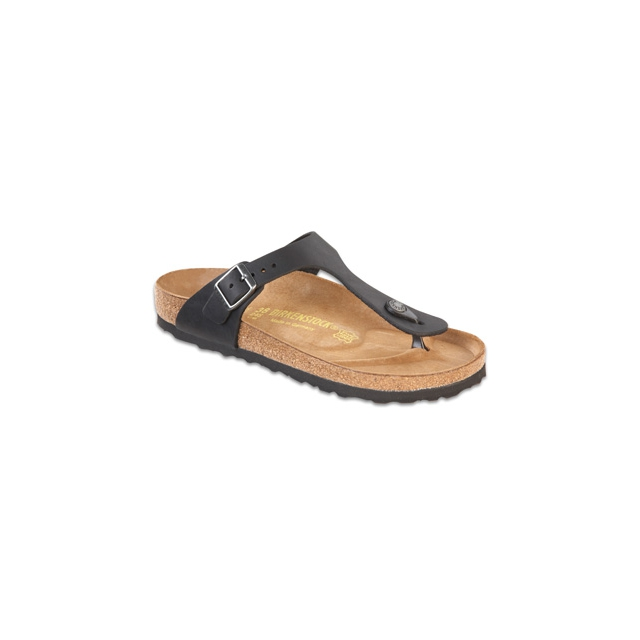 Birkenstock - Gizeh Black Oiled Leather