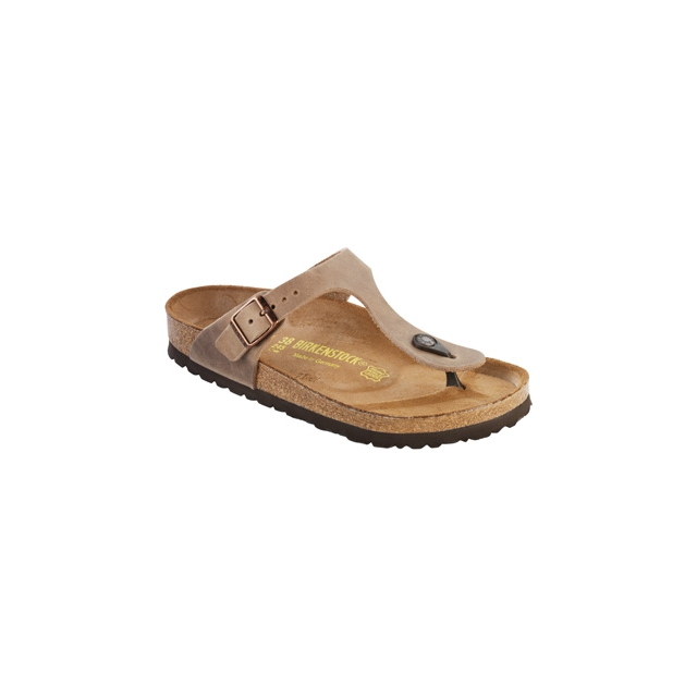 Birkenstock - Gizeh Tobacco Oiled Leather