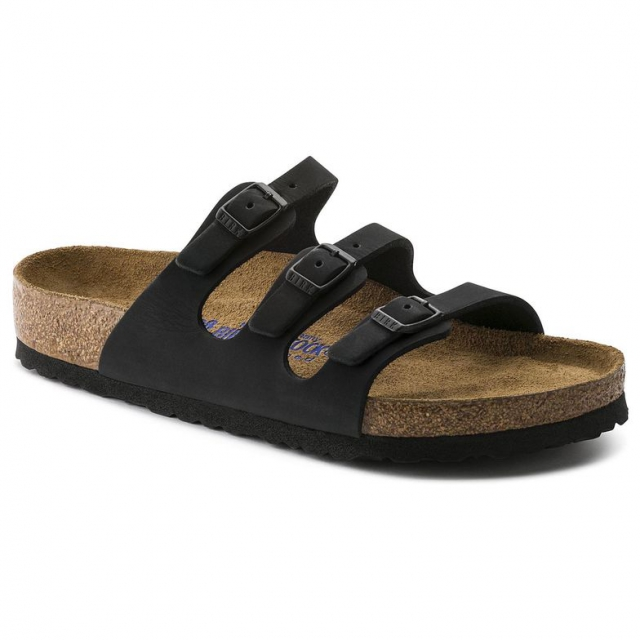 Birkenstock - Florida Soft Footbed Nubeck Leather