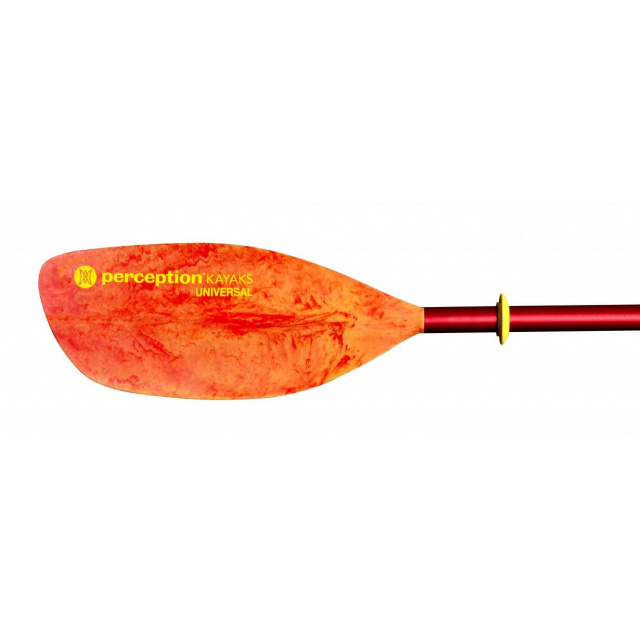Perception - 2-piece Perception Universal Paddle 230cm (Red/Yellow) in Loveland CO