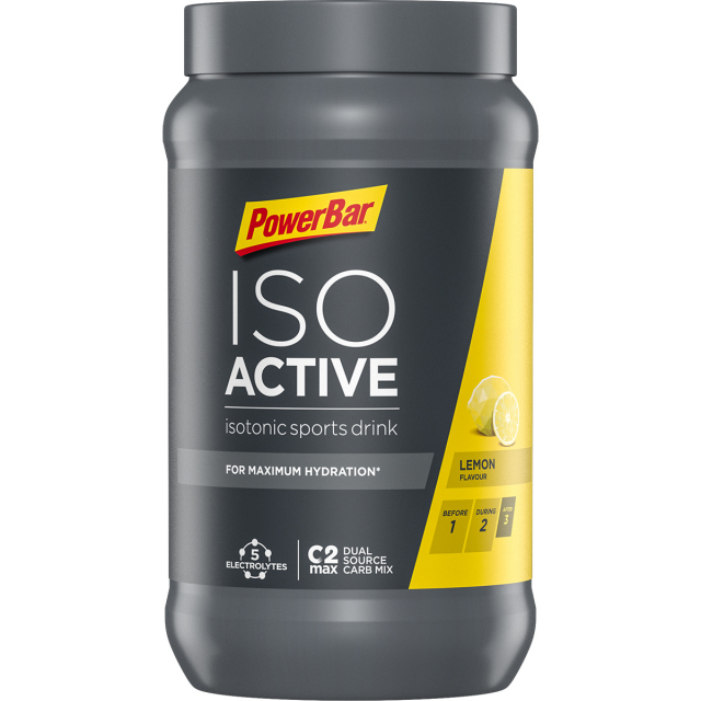 Powerbar - IsoActive Lemon - 2 Lbs 14.6 oz / 1320 g. (40 serv can)