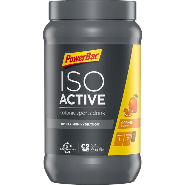 Powerbar - IsoActive Orange - 2 Lbs 14.6 oz / 1320 g. (40 serv can)