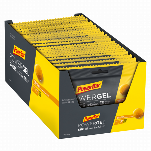 Powerbar - PowerGel Shots, Orange - 16 pcs