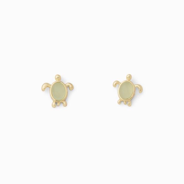 Pura Vida Bracelets - Sea Turtle Stud Earrings