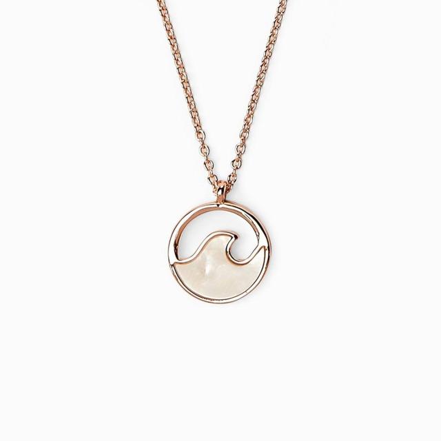 Pura Vida Bracelets - Stone Wave Necklace in Omak WA