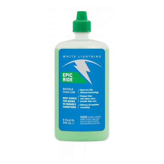 White Lightning - Epic Ride - 8oz - Squeeze Bottle