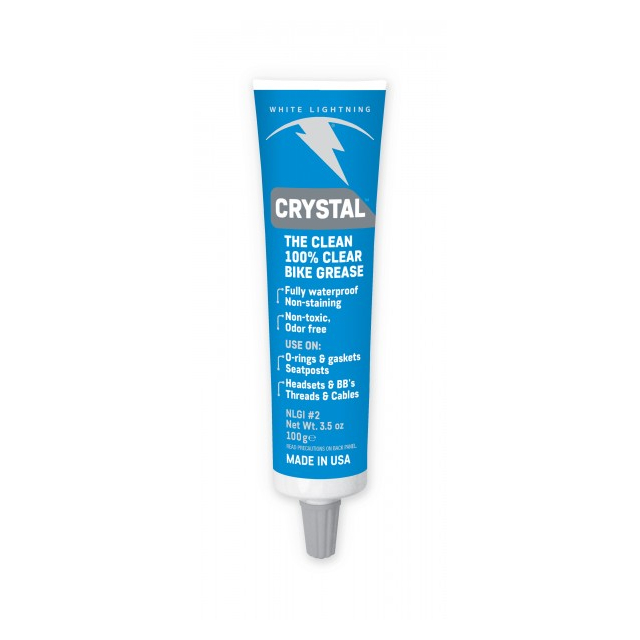 White Lightning - Crystal Grease - 3.5oz - Tube