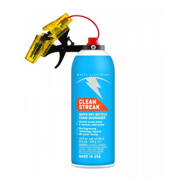 White Lightning - The Trigger - Chain Cleaner + Clean Streak 14oz