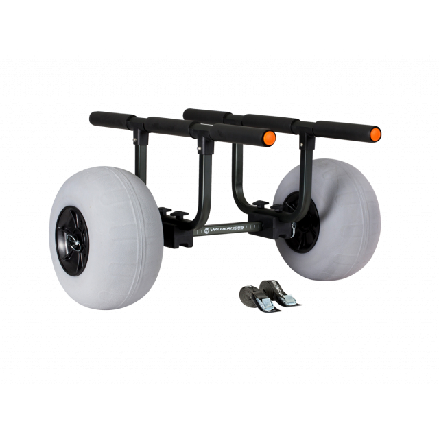 Heavy Duty Kayak Cart – 13″ Beach Wheels