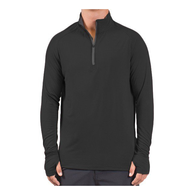 Free Fly Apparel - Men's Bamboo Midweight Quarter Zip