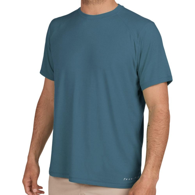 Free Fly Apparel - Men's Bamboo Midweight Motion Tee in Sioux Falls SD