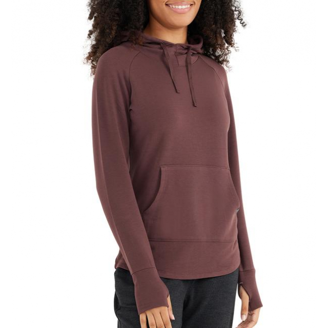 Free Fly Apparel - Women's Bamboo Fleece Pullover Hoody in Sioux Falls SD