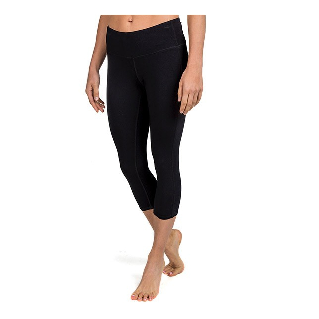 Free Fly Apparel - Women's Bamboo Cropped Tights in Sioux Falls SD