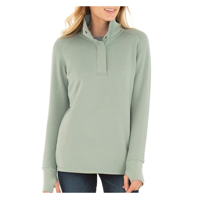 Free Fly Apparel - Women's Bamboo Thermal Fleece Pullover